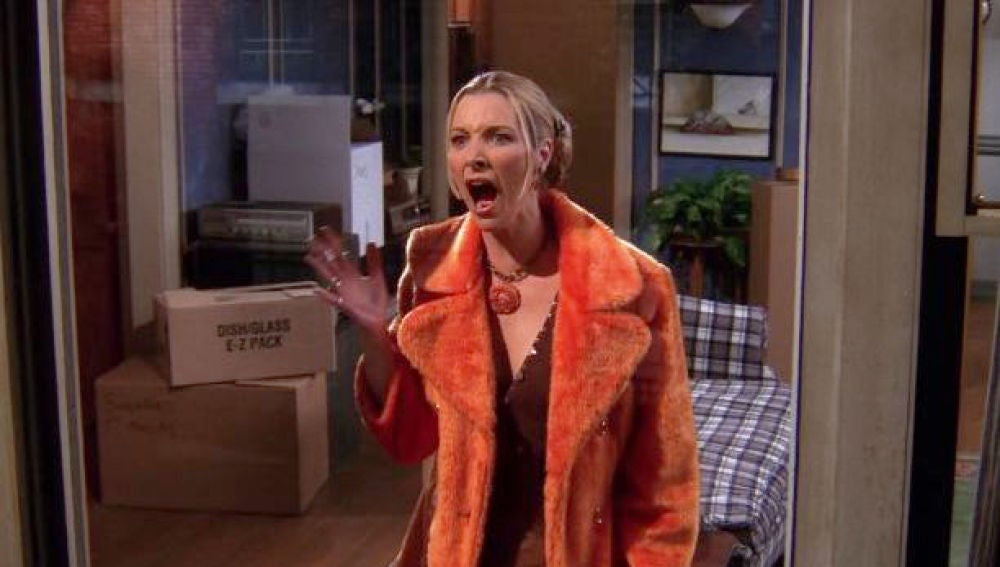 Lisa Kudrow, Phoebe Buffay  en 'Friends'