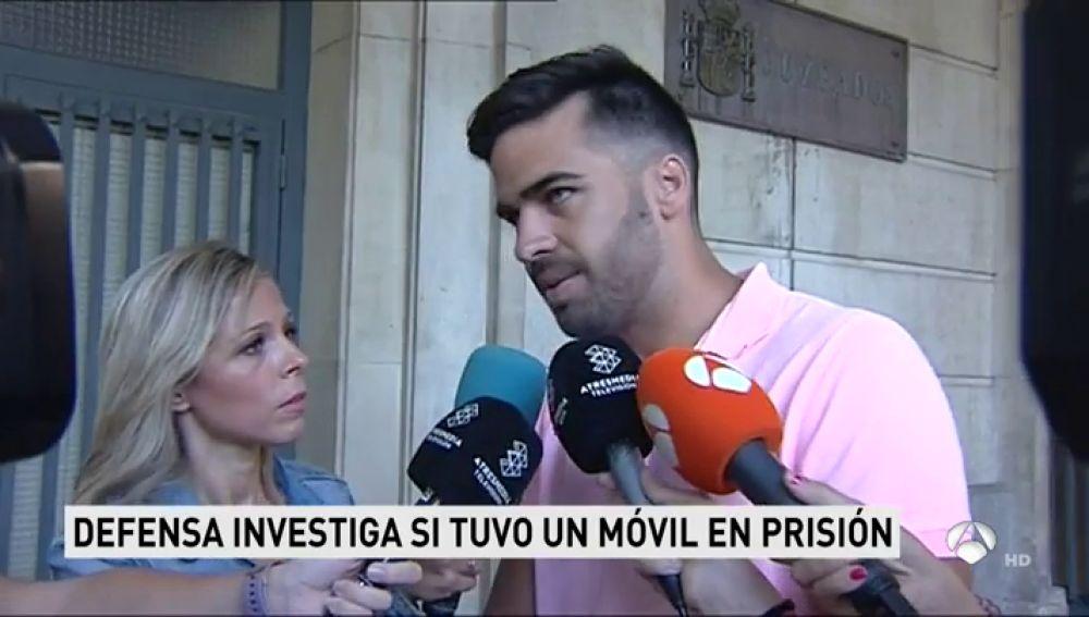 """El guardia civil de La Manada niega haber usado un móvil en prisión: """"No tiene nada que ver conmigo"""""""