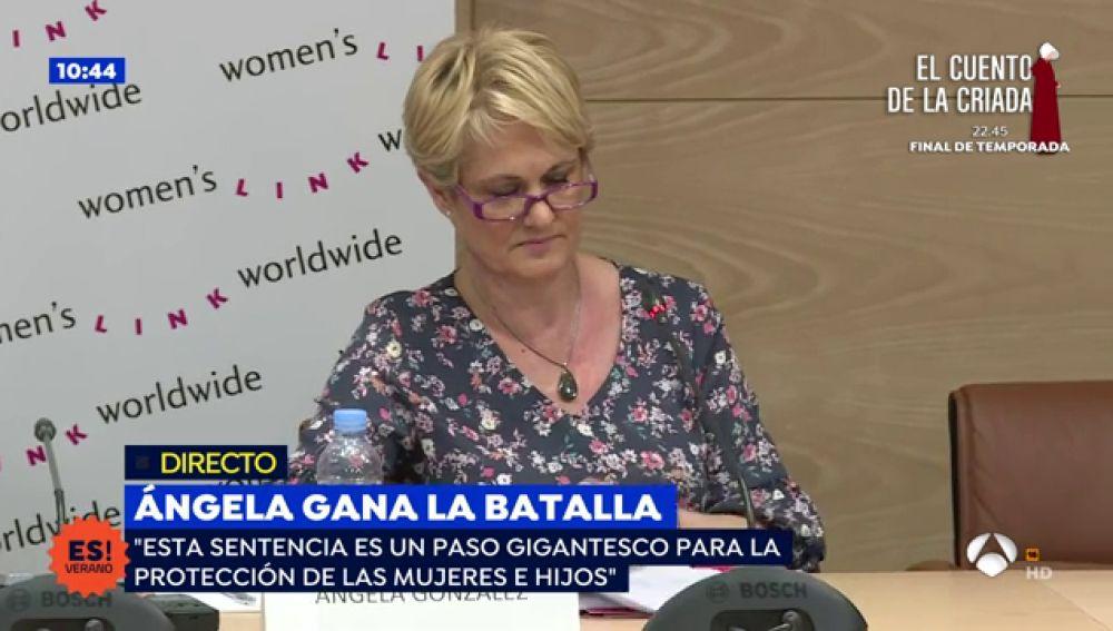 """Ángela González, madre de la niña asesinada a manos de su marido, """"A mi hija la mataron porque no se la protegió"""""""