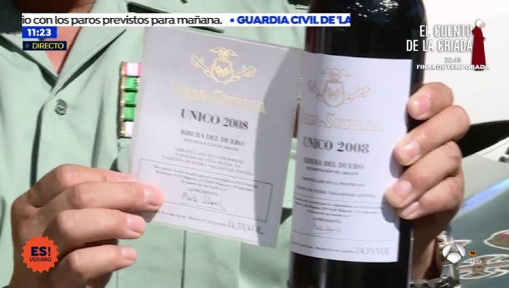 El fraude del vino: Detenidos por vender botellas reetiquetadas de 19 euros por más de 2.000