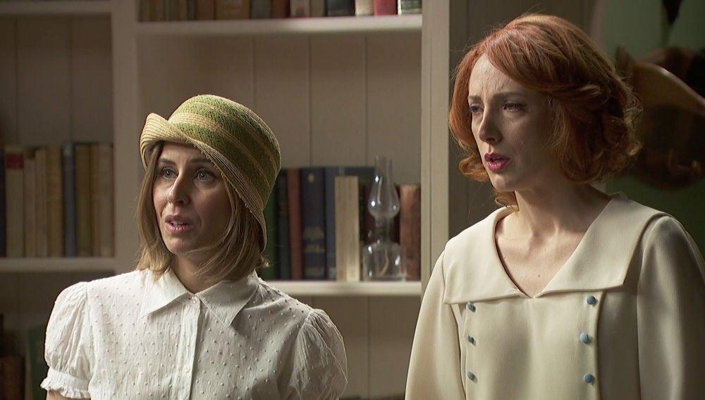 Adela, preocupada por Letizia al no aparecer en la estación