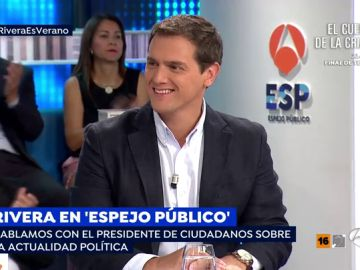 Albert Rivera en Espejo Público