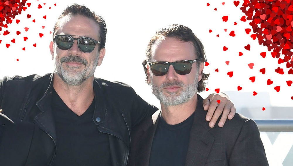Jeffrey Dean Morgan y Andrew Lincoln