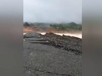 Varios muertos y cientos de desaparecidos tras derrumbarse una presa hidroeléctrica en Laos