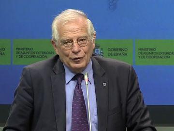 """Borrell: """"A ver si el señor Torra se entera de una vez: el derecho a la autodeterminación no está reconocido internacionalmete en ninguna parte"""""""