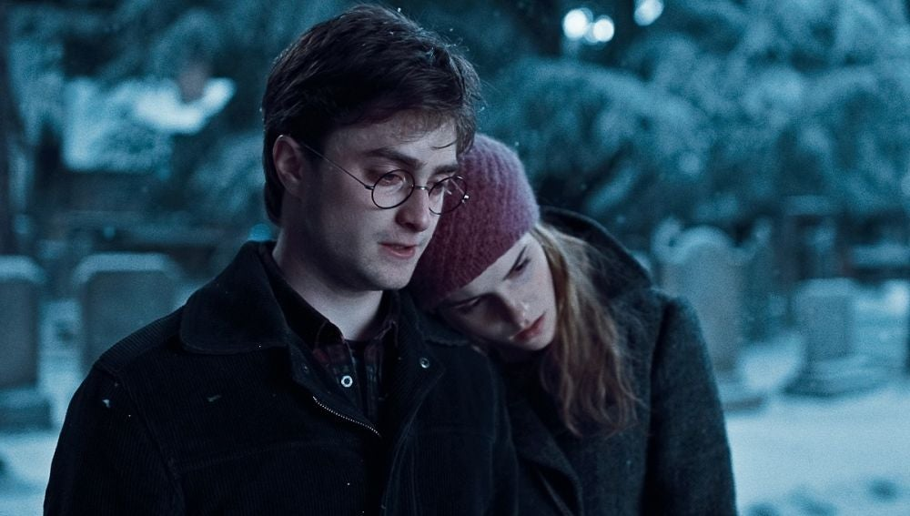 Harry y Hermione en 'Harry Potter'