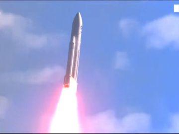 La ESA lanza con éxito cuatro satélites Galileo al espacio