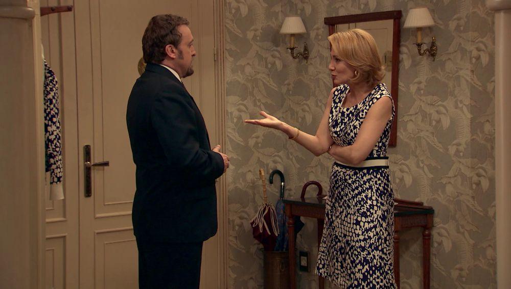 Ortega se presenta en casa de Matilde sin avisar con una oferta muy interesante