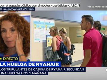 """Huelga de tripulantes de cabina: """"Ryanair quiere mantener contratos irlandeses y tener a sus empleados en España como desplazados"""""""