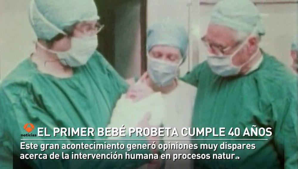 Se cumplen 40 años del nacimiento del primer bebé probeta