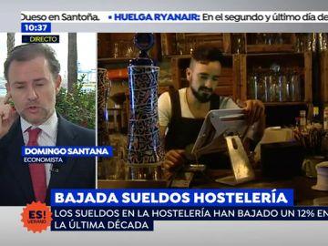 """Domingo Santana analiza la situación del sector de la hostelería: """"El problema de España son los salarios"""""""