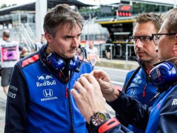 El inglés James Key, en el GP de Austria