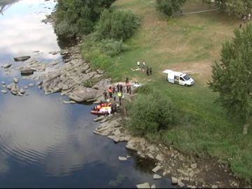 Hallan el cuerpo sin vida de un joven que desapareció en el río Miño y fue arrastrado por la corriente