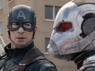 Capitán América y Ant-Man en 'Civil War'