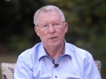 Sir Álex Ferguson, en un vídeo publicado por el United