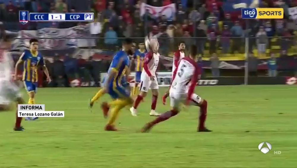 ANTENA 3 TV   Mario Ricardo, el jugador que perdió un ojo con diez ...