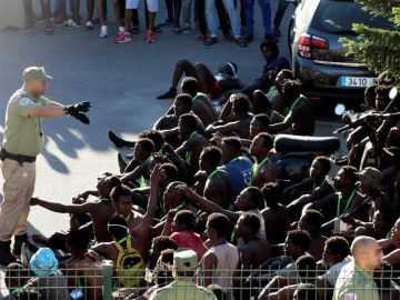 Inmigrantes en Ceuta