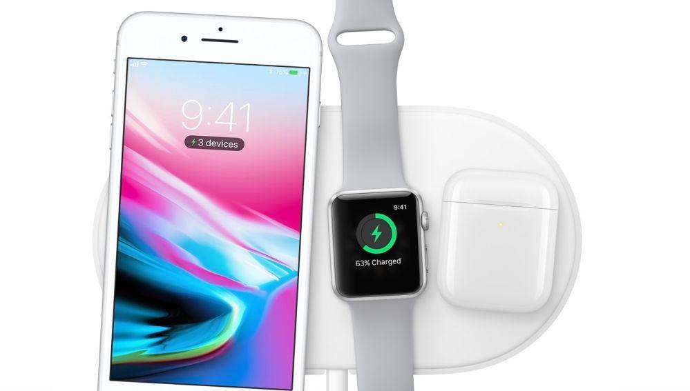 La base de carga por inducción AirPower es una de las novedades que vamos a ver en otoño después de que se mostrase al público durante la presentación de los iPhone 8 y el iPhone X