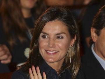 Reina Letizia en el Auditorio de la Escuela Internacional de Música de Oviedo