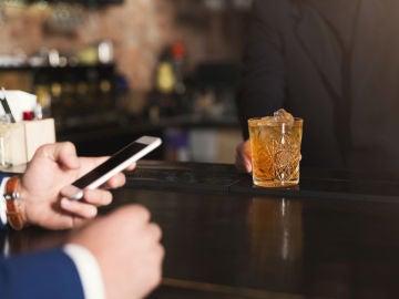 Foto en el bar