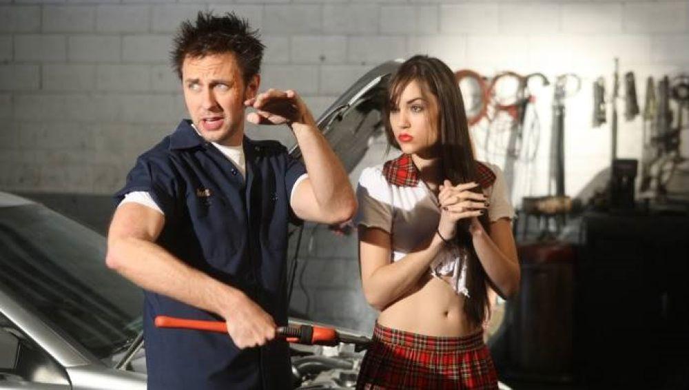 James Gunn y Sasha Grey en 'PG Porn'