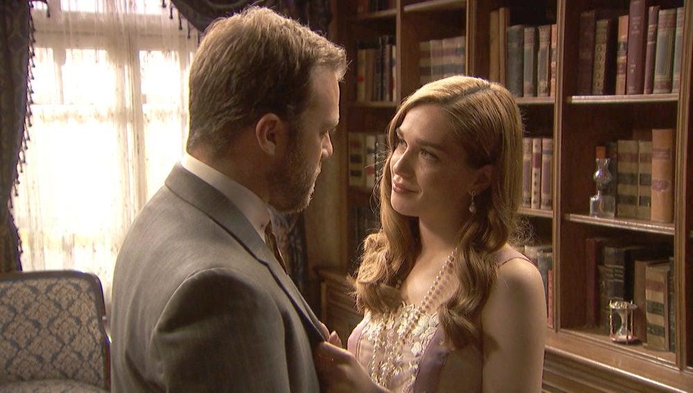 Julieta se gana a Fernando con un juego de seducción