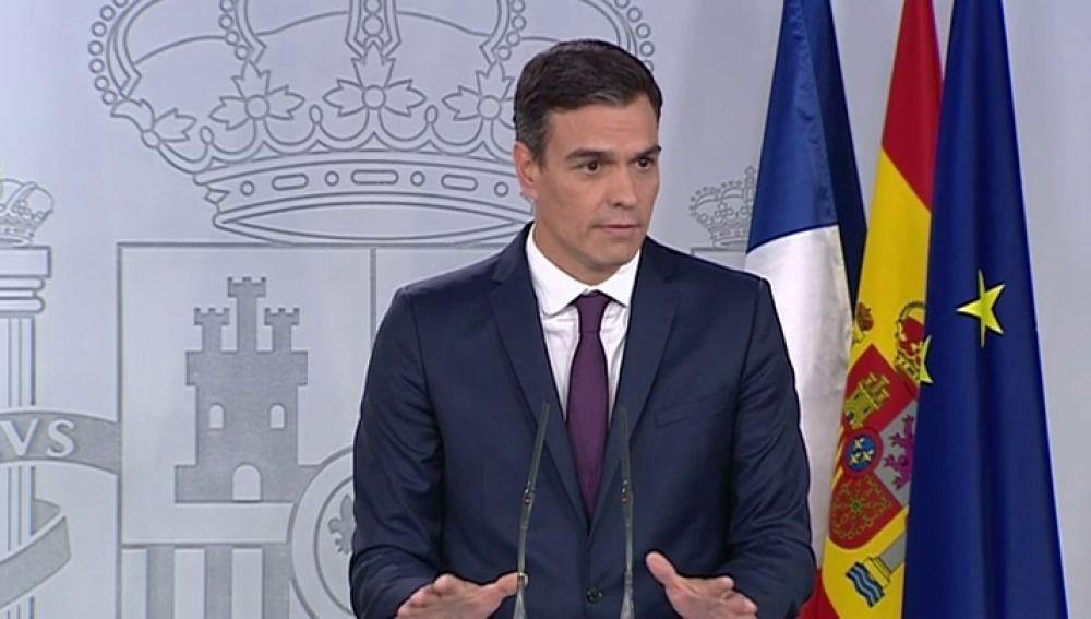 """Noticias de la mañana (27-07-18) Sánchez insiste en que """"habrá elecciones en 2020"""" y apela a la responsabilidad del PP para aprobar el techo de gasto"""