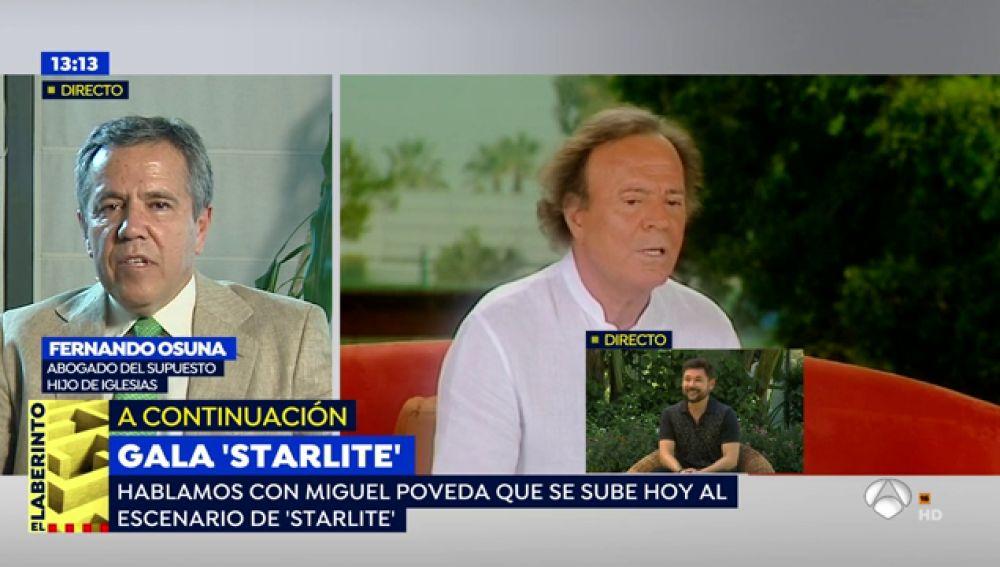 """Javier Santos, supuesto hijo de Julio Iglesias, sabe que su """"padre"""" tiene perdido el juicio y por eso lo retrasa una vez más."""