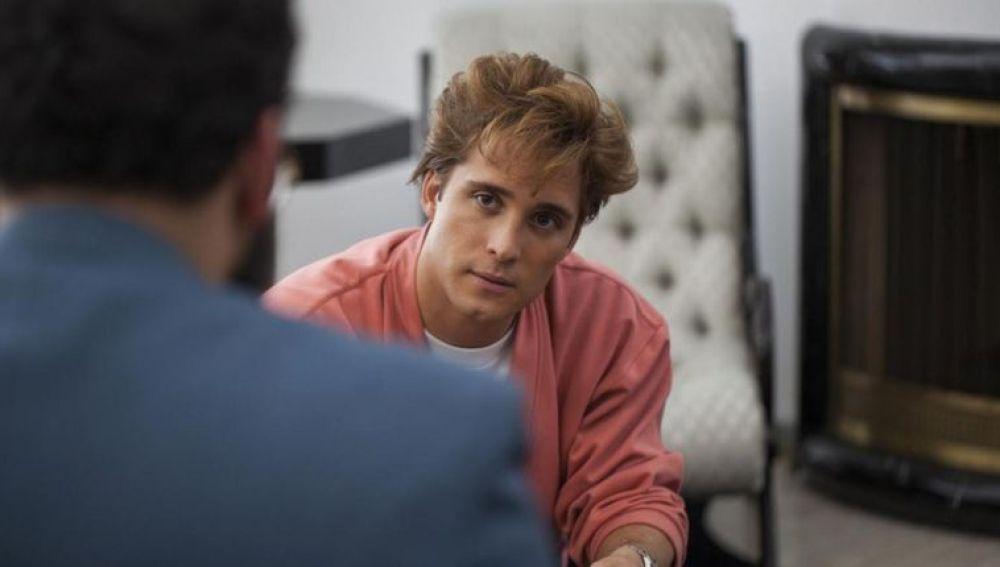 Diego Boneta en 'Luis Miguel, la serie'