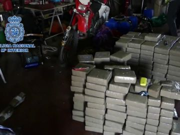 Diez narcos detenidos en Huelva por tráfico de hachís