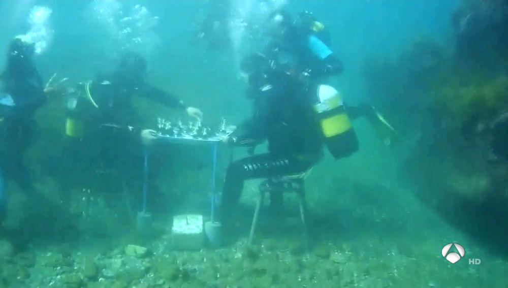 Ajedrez acuático