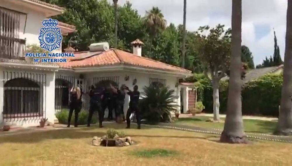 """Otra operación policial en el Campo de Gibraltar desmantela una nueva """"guardería"""""""