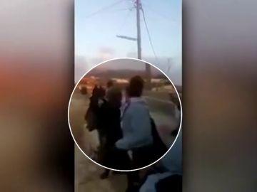 La bofetada a un militar israelí por la que la joven adolescente icono de la resistencia palestina fue condenada a ocho meses de prisión