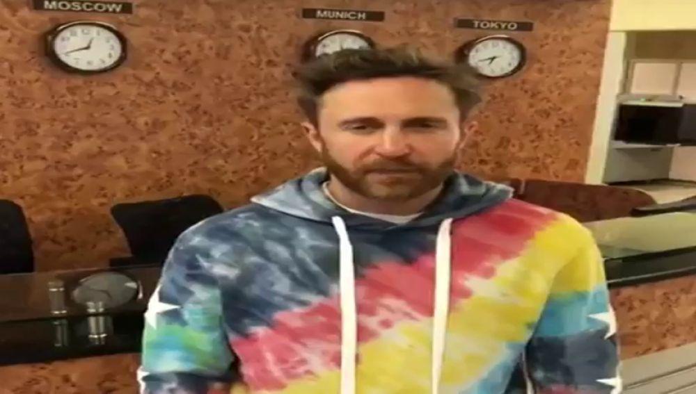 David Guetta pide disculpas en un vídeo tras cancelar su concierto en Santander