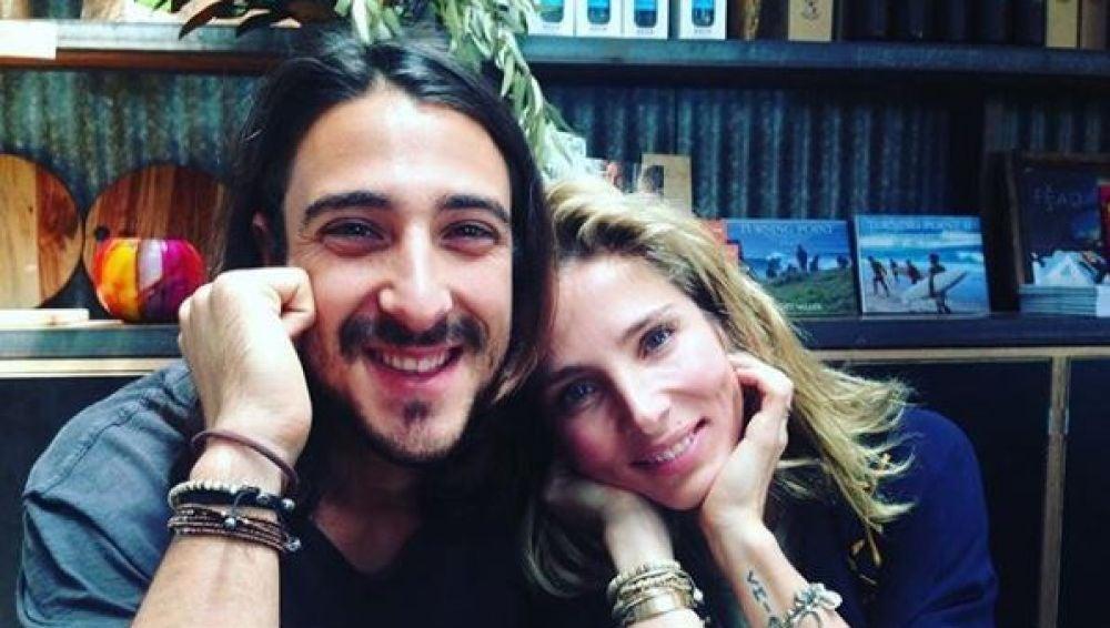 Elsa Pataky y su hermano Cristian Prieto