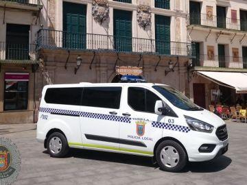 Coche de la Policía Local de Tudela