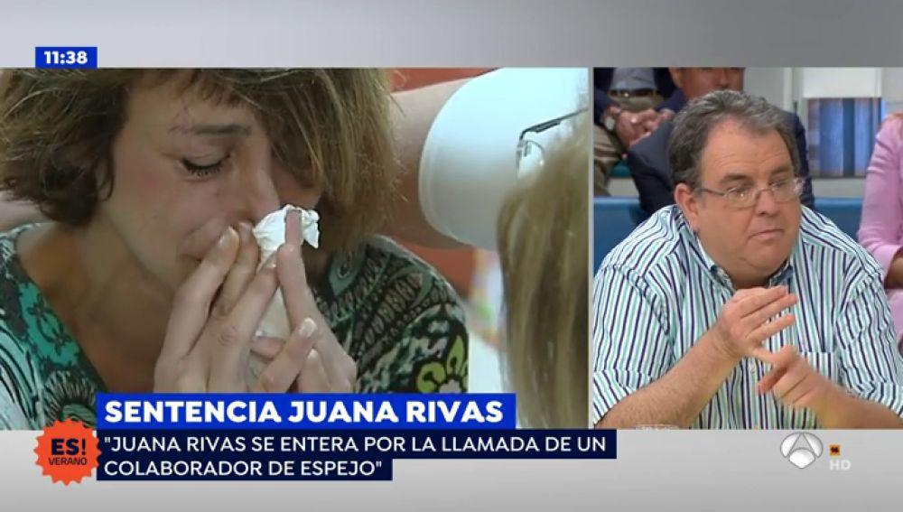 """Abogado de Juana Rivas sobre la situación de su clienta: """"Está destrozada"""""""