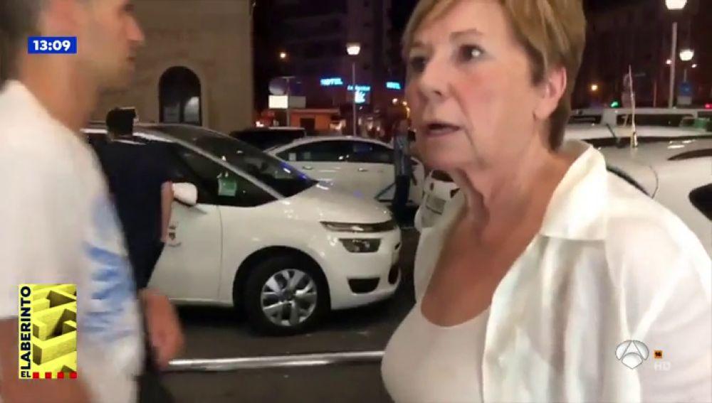 """La reacción de Celia Villalobos, al quedarse sin taxi: """"¿Cómo coño llego hasta Torremolinos?"""""""