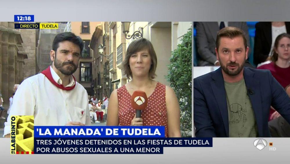 Tres detenidos en Tudela, Navarra, por abusar de una joven menor de edad