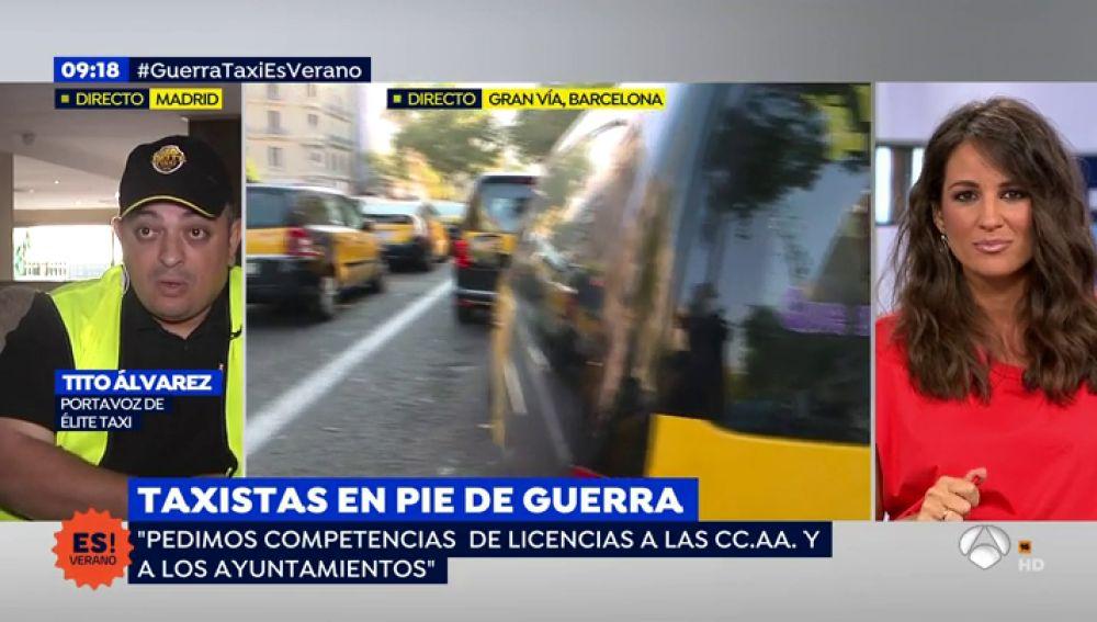 TAXISTAS EN PIE DE GUERRA