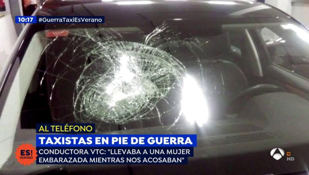 """Víctima de la guerra de taxis: """"Esto va acabar cuando nos maten a uno de nosotros"""""""