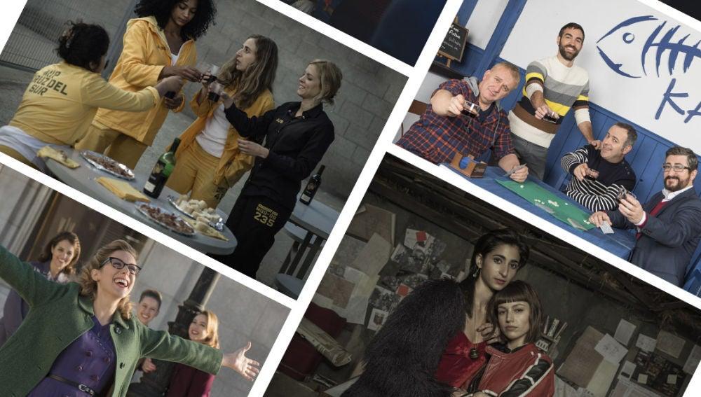 Celebramos la amistad, con los mejores momentos de las series de Antena 3 en el Día Internacional del Amigo