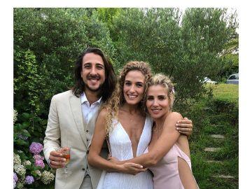 Elsa Pataky junto a los recién casados