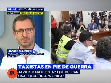 """Javier Maroto, sobre el conflicto de taxis: """"Nos parecía que Ábalos se había ido de vacaciones"""""""