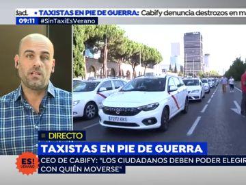 """El Director General de Cabify: """"El problema es que los taxistas tienen como rehén a los ciudadanos"""""""