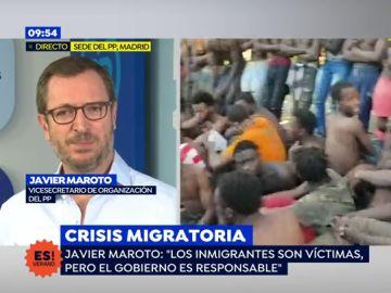 """Javier Maroto, sobre las palabras de Casado sobre inmigración: """"Ha sido valiente y ha llamado a las cosas por su nombre"""""""