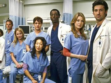 Los protagonistas de 'Anatomía de Grey'