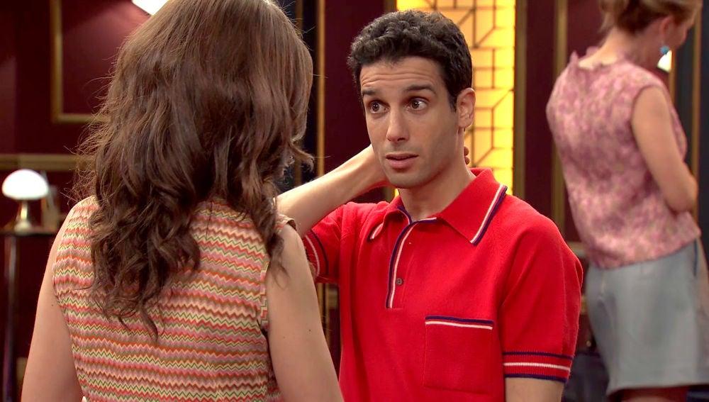 María ilusiona a Ignacio con una cita