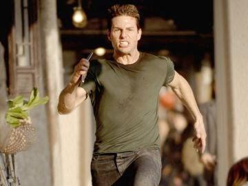 Tom Cruise en una de sus películas