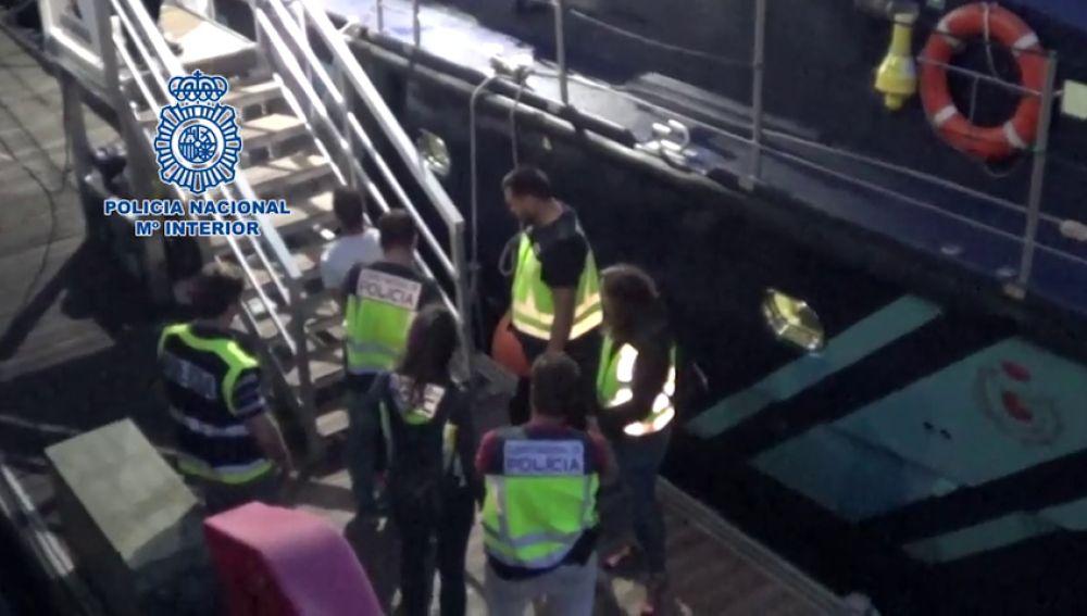 La Policía Nacional detiene a 24 personas en una operación contra el narcotráfico a través de las costas gallegas